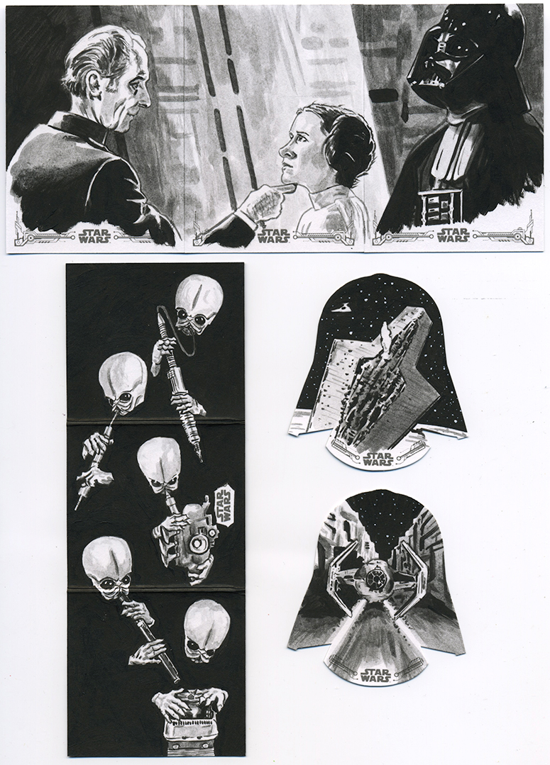 Star Wars A New Hope Black and White - 04 by tdastick
