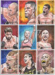 2018 UFC Canvas Collection