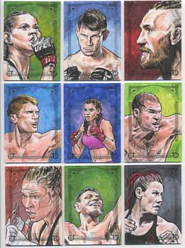 2018 UFC Canvas Collection - 02