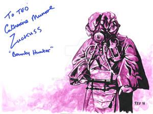 Zuckuss - signed by Catherine Munroe