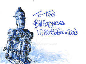 IG-88 - signed by Bill Hargreaves