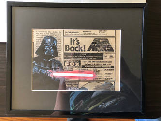 Star Wars - ad painting
