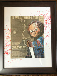 Child's Play - ad painting