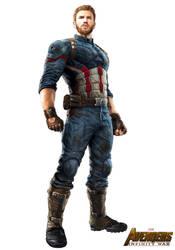 Captain America - Promo Avengers Infinity War by Nomada-Warrior