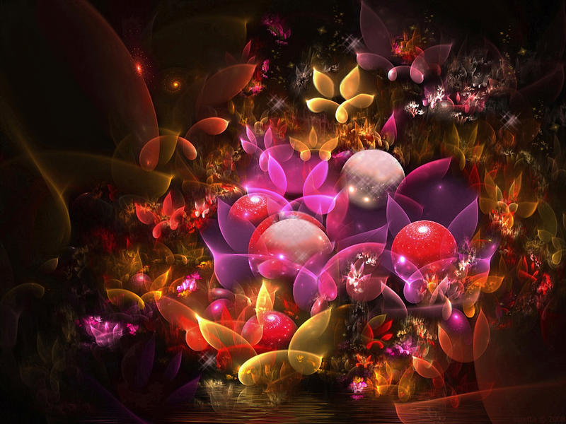 Autumn Flowers by SARETTA1