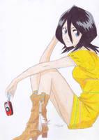 Kuchiki Rukia by AppleFreak56