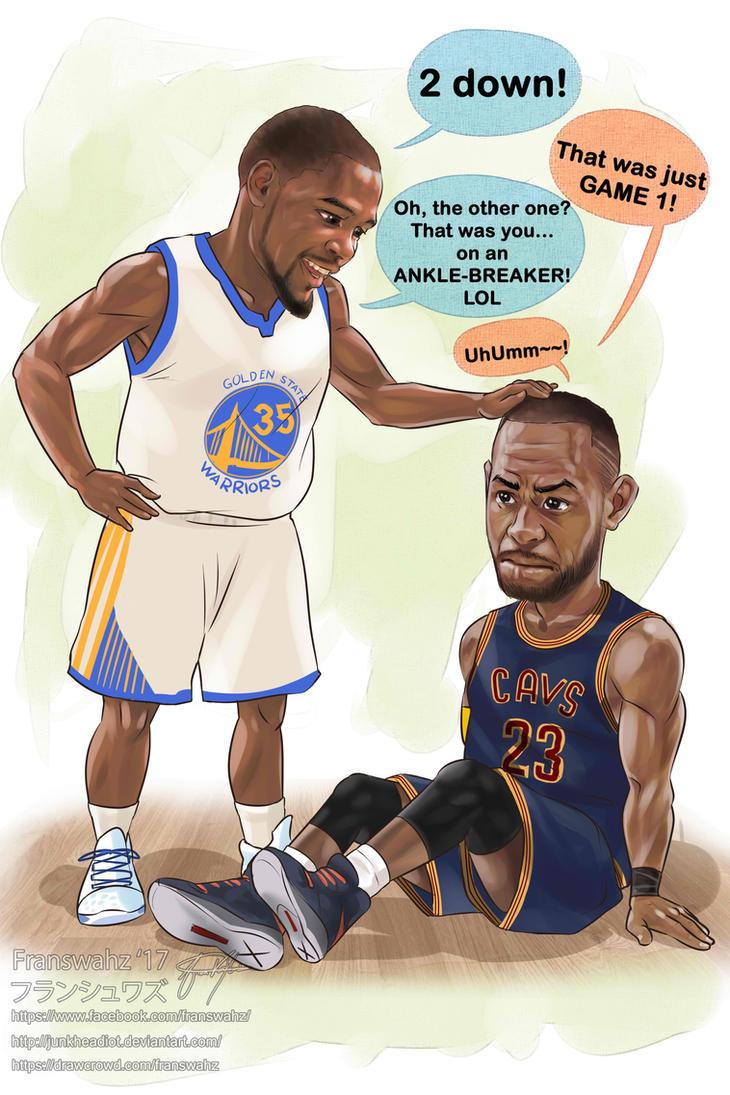 The NBA 2017 Championship Memes by junkheadiot