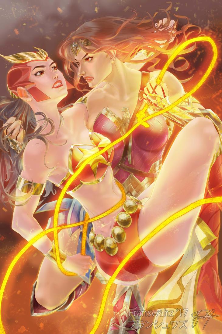 Wonder Woman x Darna by junkheadiot
