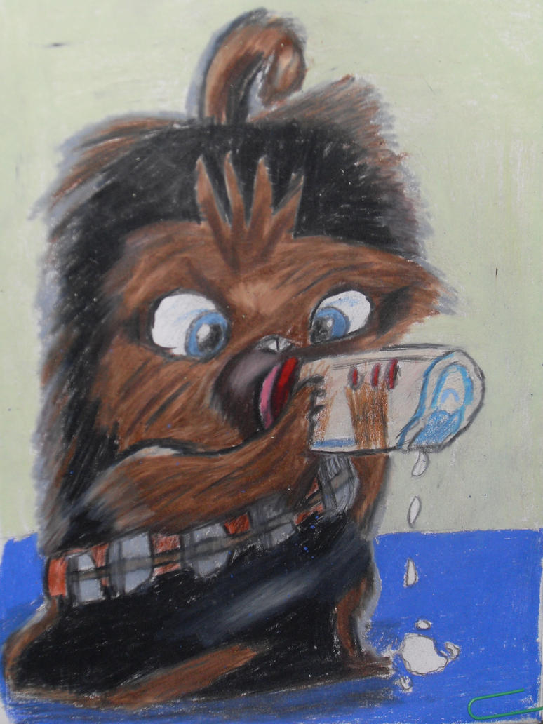 Baby Chewie by SpacemanSlashBaby Chewbacca Art