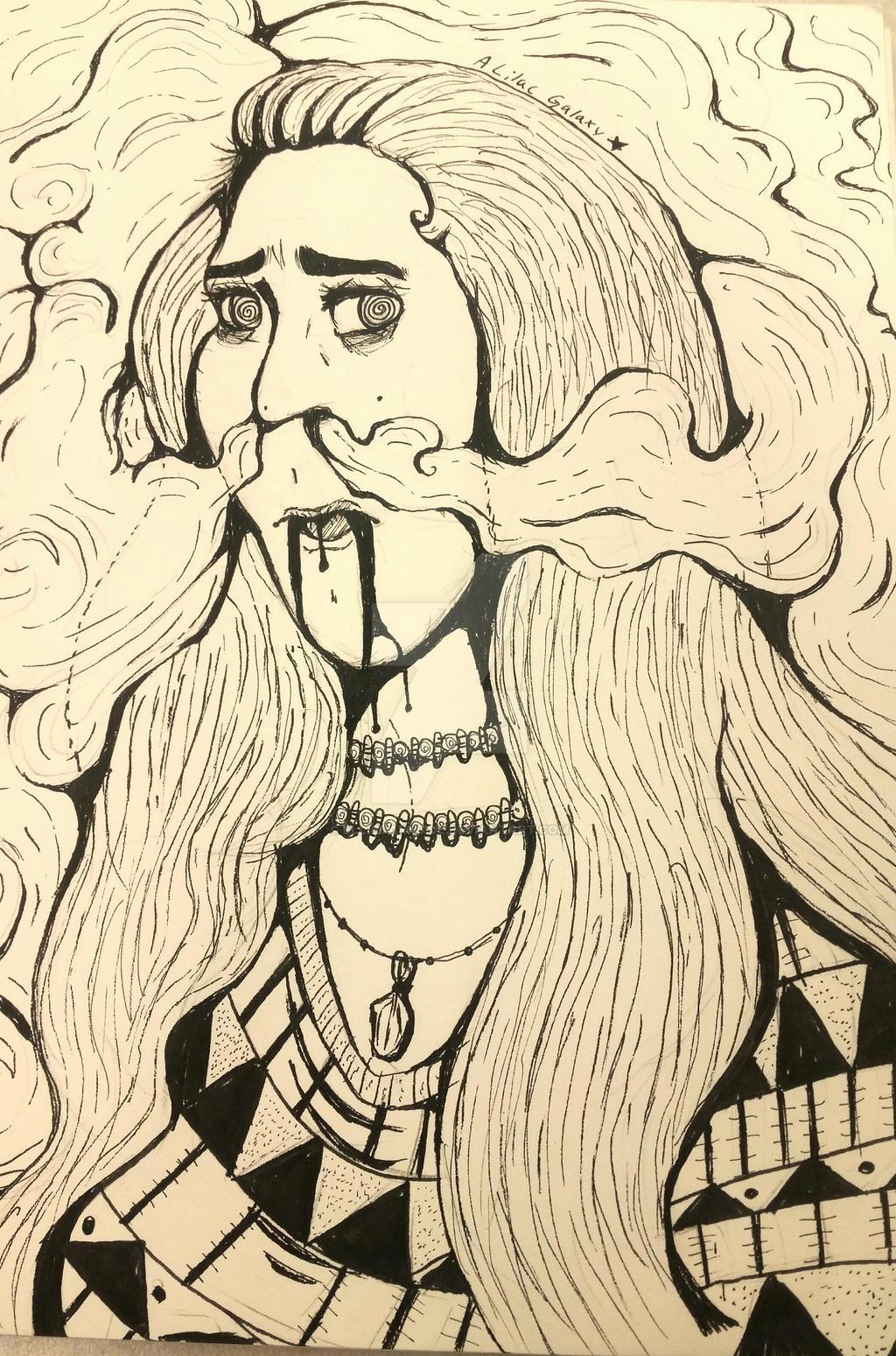 Smoke by EllieDarkside