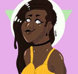 the icon herself by EllieDarkside