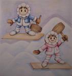 Ice Climbers by Freddy-Kun-11