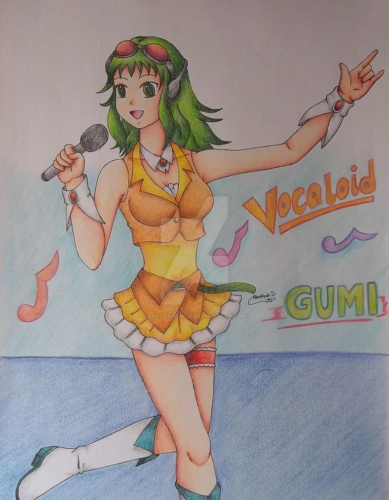 Gumi by Freddy-Kun-11