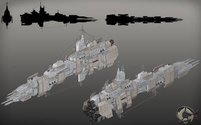 Sith Empire Terentatek Class Battleship