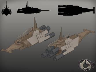 Onderon Orbalisk Class Frigate
