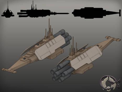 Onderon Zakkeg Class Heavy Frigate