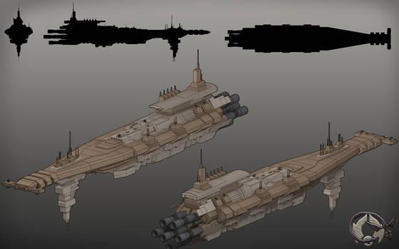 Onderon Boma Class Heavy Cruiser