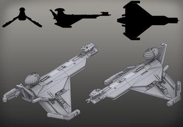 Star Trek Promellian Battlecruiser