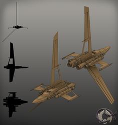 Hutt Enforcer Type-7 Gunship