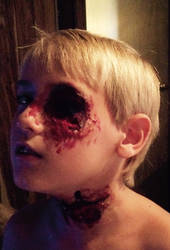 Zombie kid by meggreer