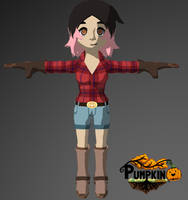 Rancher girl by Pumpkin-Days-Game
