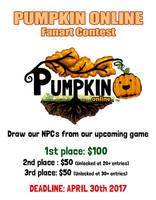 Pumpkin Online Contest! $100 first prize by Pumpkin-Days-Game
