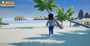 Pumpkin Online Rain on The Beach by Pumpkin-Days-Game