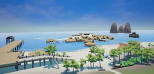Pumpkin Online Wahoo Beach (In development) by Pumpkin-Days-Game
