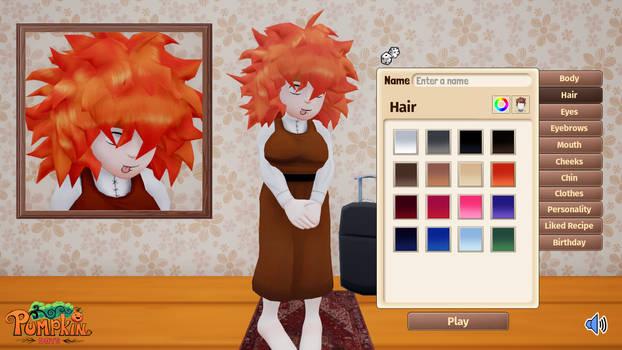 Pumpkin Character Customization