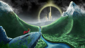 The Gate to Etenyr, City of Spires