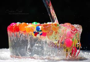 Water cake by Silviaa92
