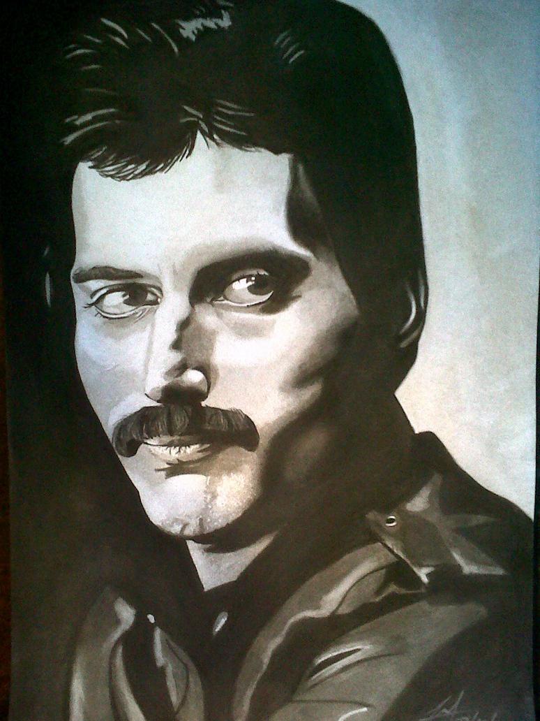 Freddie Mercury, Lover of Life,  Singer of Songs by Mark-RSA