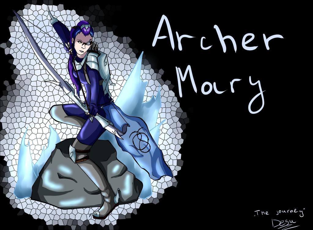 Mary ( aka Winterspring) Archer by BlackDema