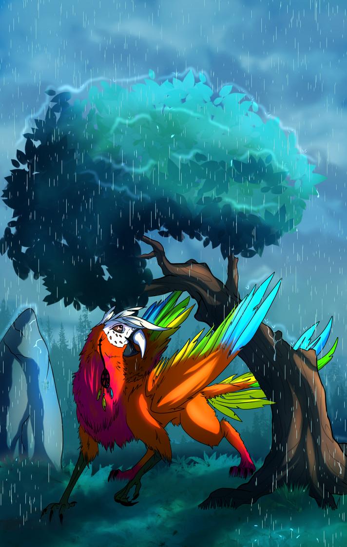 Rain, rain go away by BlackDema