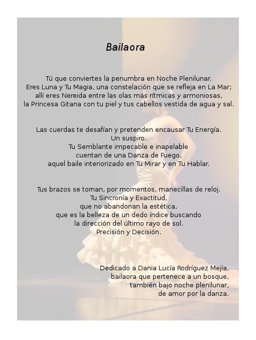 Bailaora by AdagioParaCuerdas