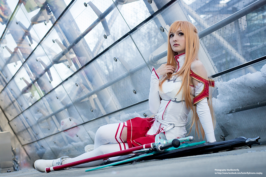 Asuna Yuuki by black---butterfly