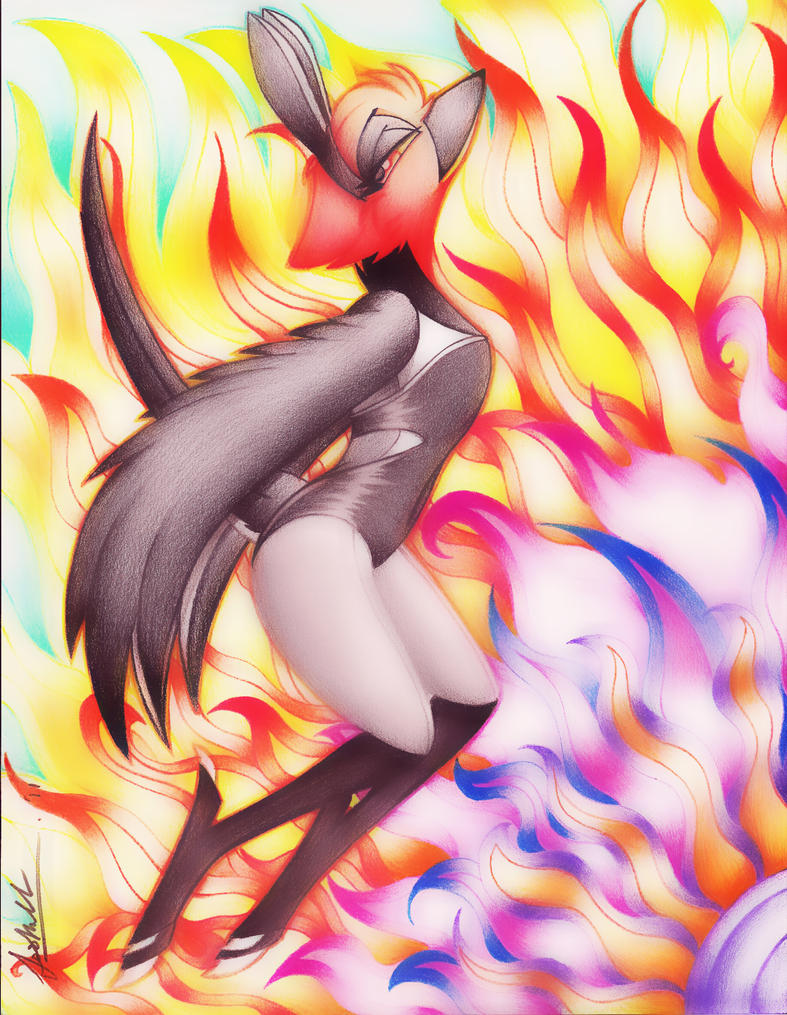 Flow like Flames by TwinTailsInc