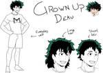 Grown Up Midoriya Izuku sketches