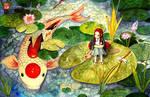 Little Hero: Tancho Doitsu Koi by kivbuiart