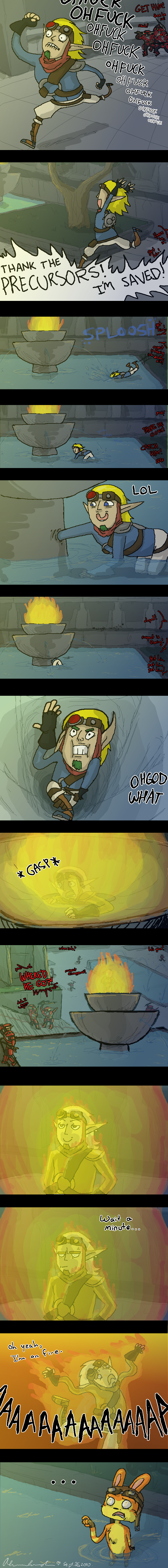 Jak 2 Fountain Glitch by Jackarais