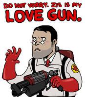 ZIS IS MY LOVE GUN. by Jackarais