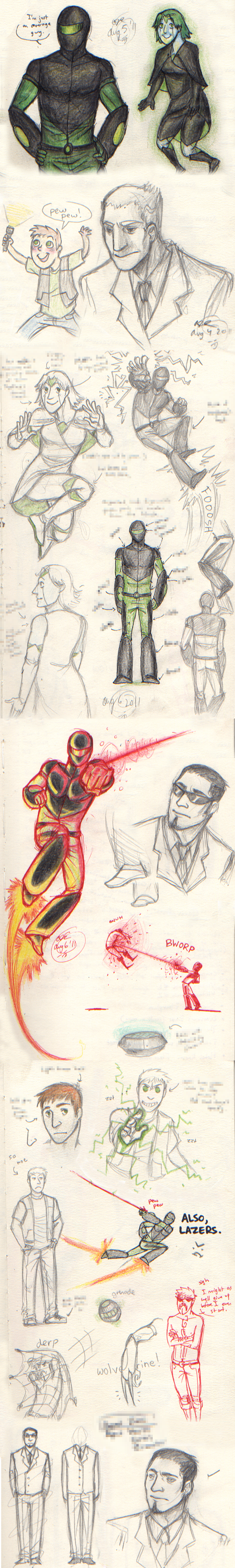 RCR2: Gigawatt Sketches by Jackarais