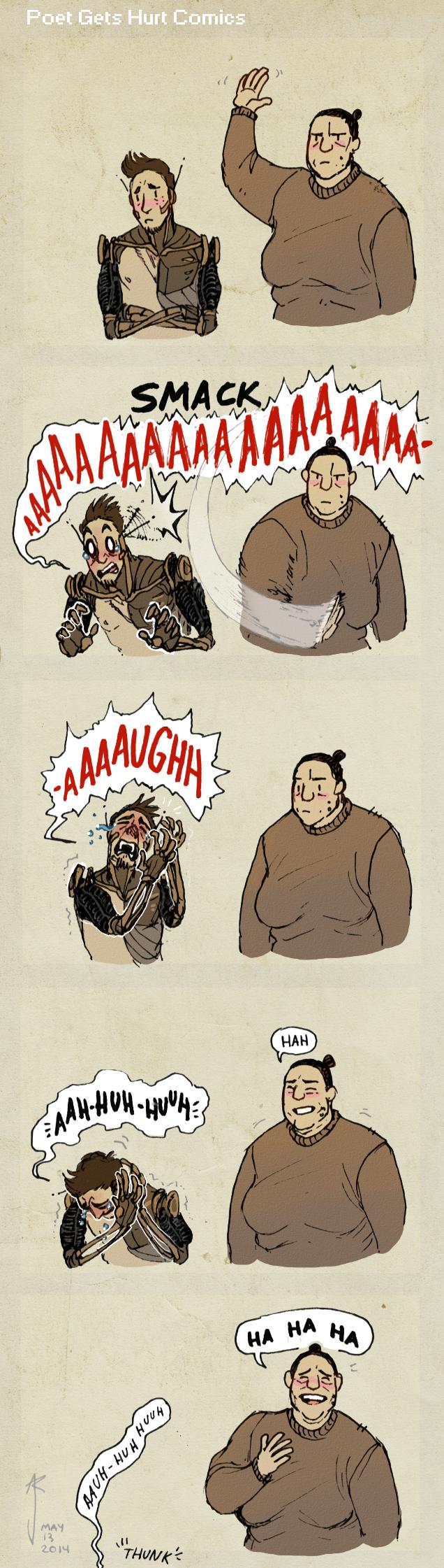 Poet Gets Hurt Comics
