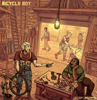 Bicycle Boy CH5 Cover by Jackarais