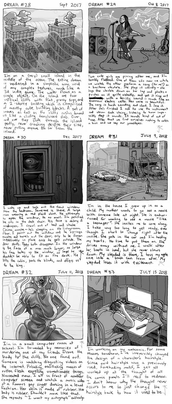 Dream Comics 28-33 by Jackarais