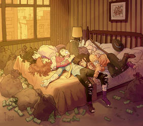 lupin and his sleepy rogues
