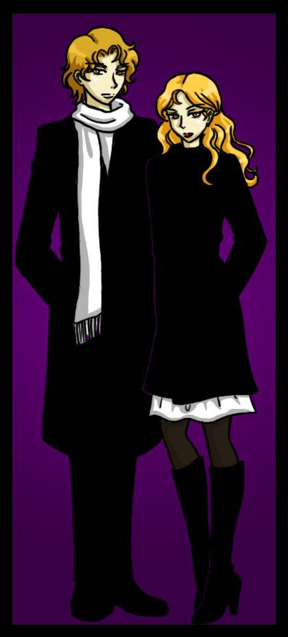 The Hale Twins -Jasper, Rose by agent-indigo