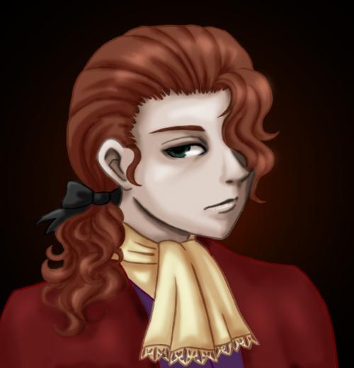 Damian Portrait by agent-indigo