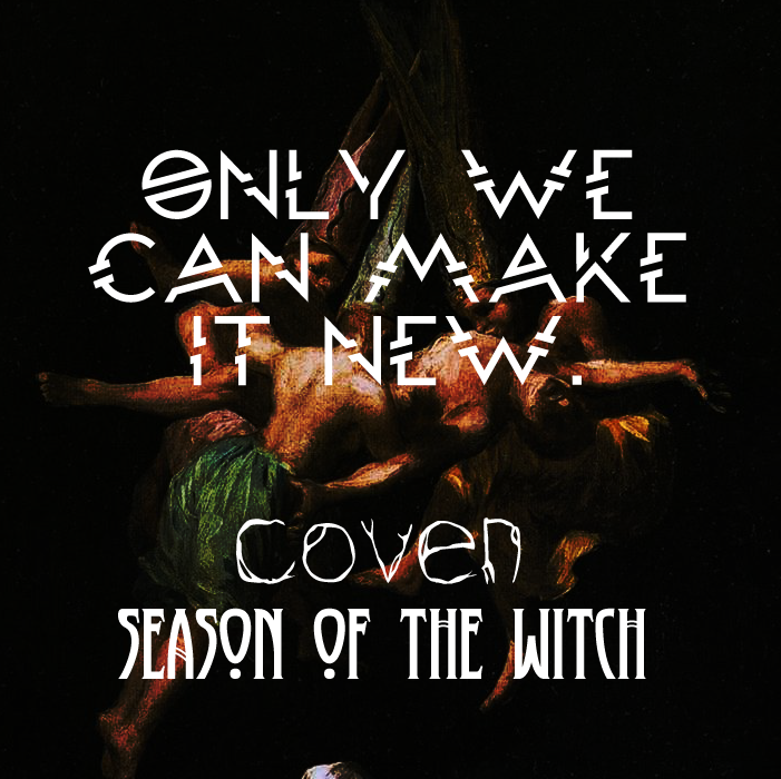 Coven: Season Of The Witch promo 2 by hushicho
