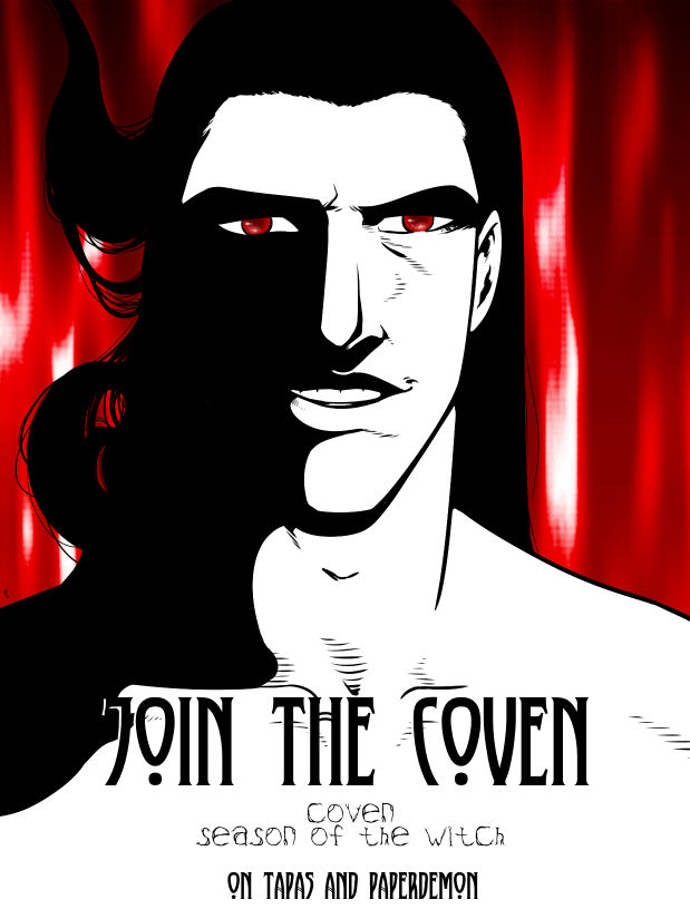 Coven: Season of the Witch episode 2 promotion by hushicho